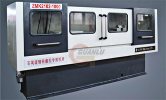 ZMK2102×1000mm Gun Drilling Machine for Glass Material
